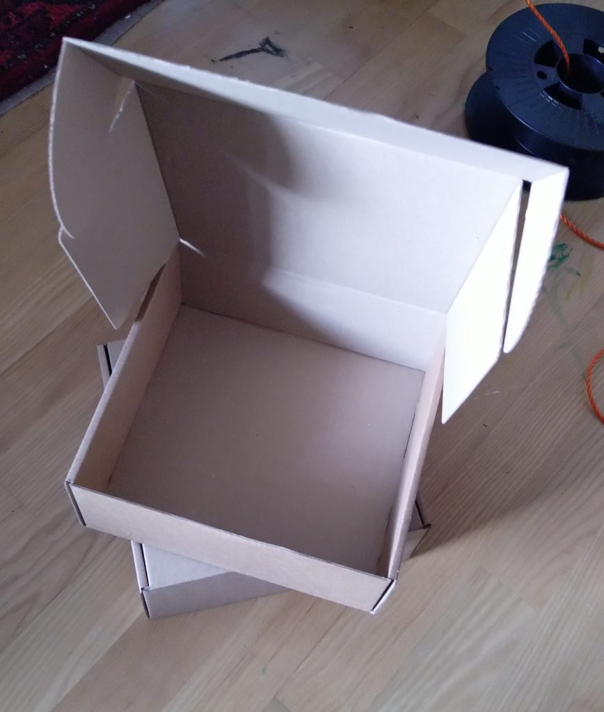 cardboard view screen material